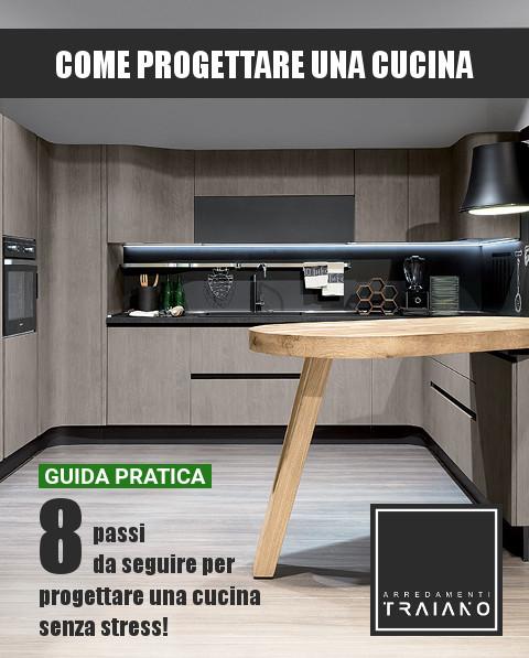 Come progettare una cucina: la guida passo-passo | Arredamenti Traiano