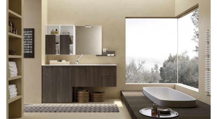 Design Bagno Torino : Essenze comp mobile bagno arredo bagno archeda torino
