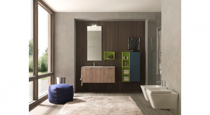 Bagno originale bagno con doccia e arte originale di - Bagno originale ...