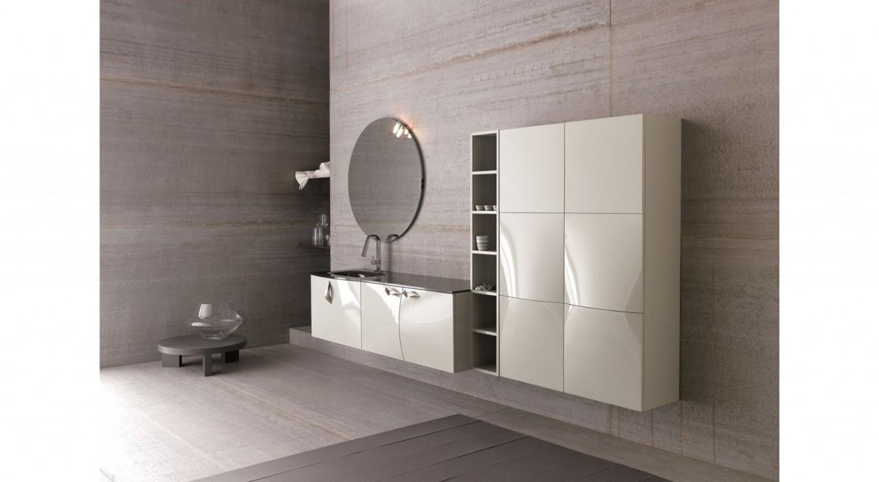 Composizione bagno e lavanderia