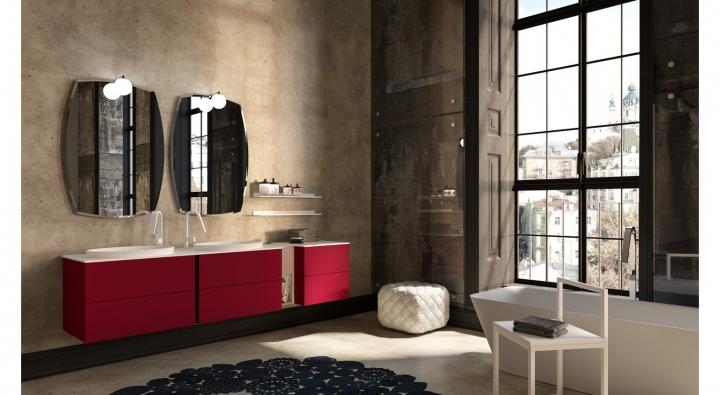 Aroma comp 30 mobile bagno arredo bagno archeda torino for Arredamenti traiano torino