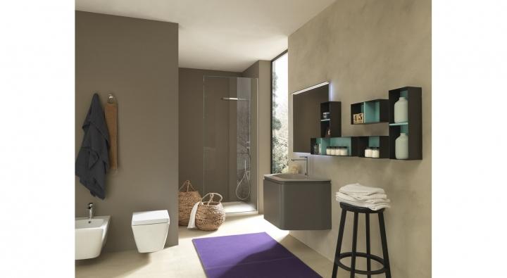 Gola comp 35 mobile bagno arredo bagno archeda torino arredamenti traiano - Mobile bagno profondita 35 ...