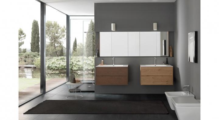 Tulle comp 17 mobile bagno arredo bagno archeda torino arredamenti traiano - Specchi bagno torino ...