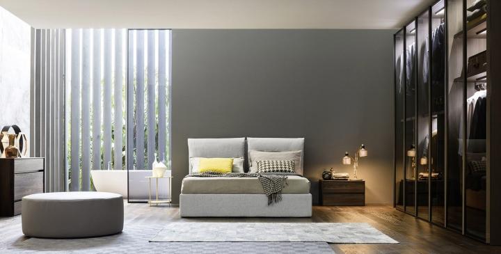 Softy letto camere da letto novamobili torino for Arredamenti traiano torino