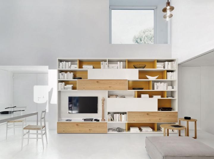 Modo - Libreria | Soggiorni San Giacomo Torino | Arredamenti Traiano