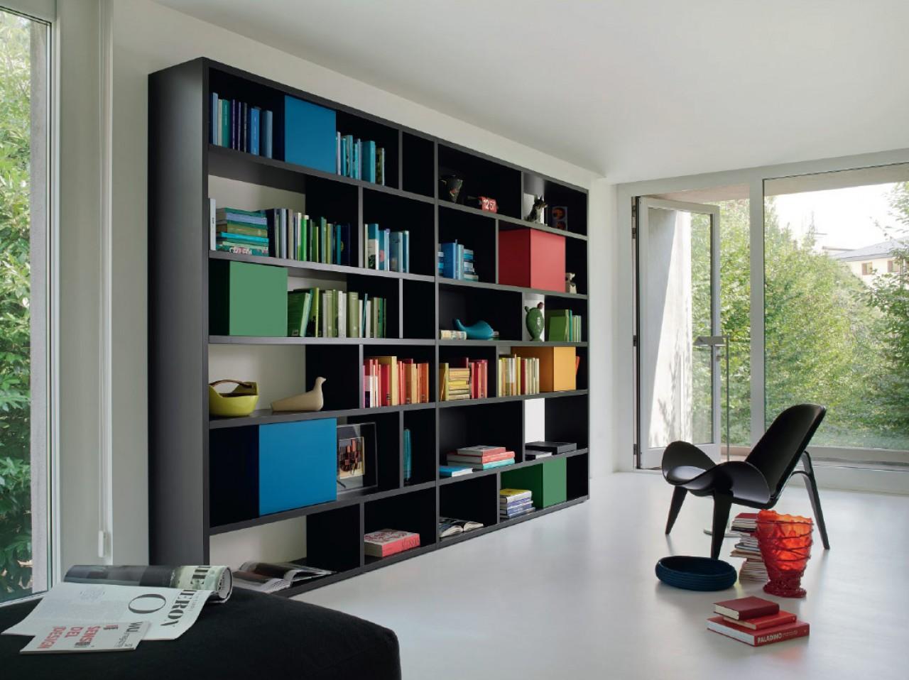 Modo libreria soggiorni san giacomo torino for Mobili librerie torino