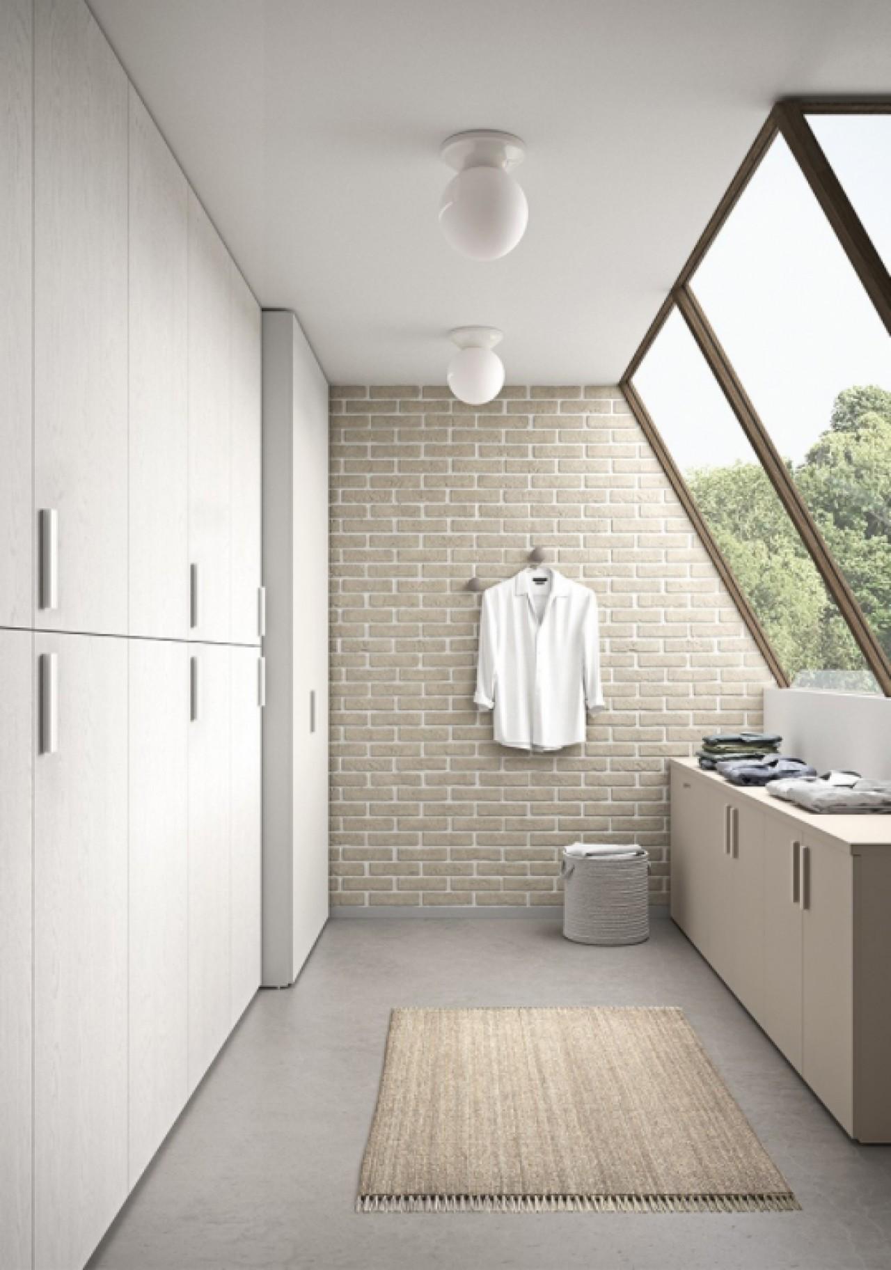 C3 lv02 mobile lavanderia arredo bagno cinquanta3 for Arredamenti traiano torino