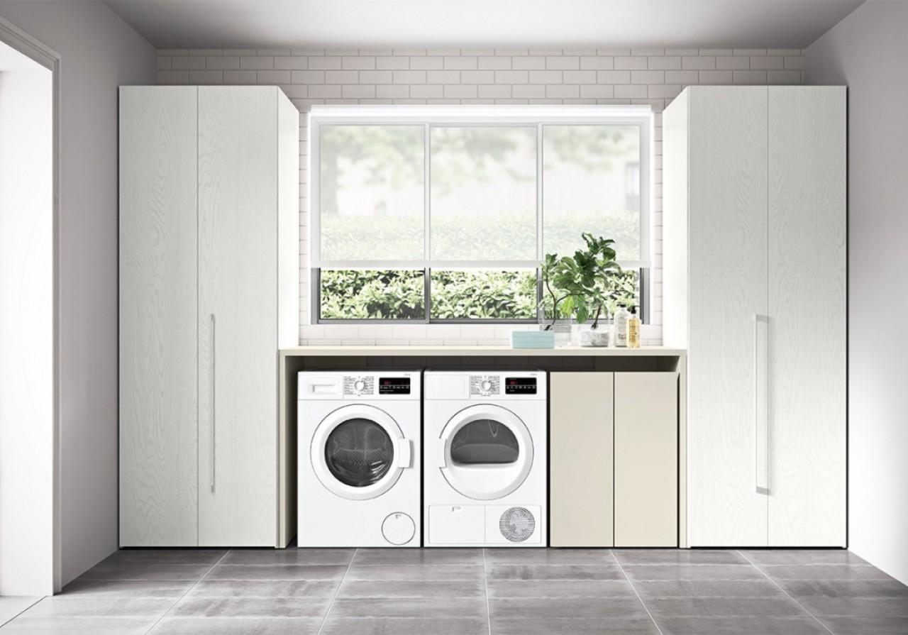 C3 lv03 mobile lavanderia arredo bagno cinquanta3 for Arredamenti traiano