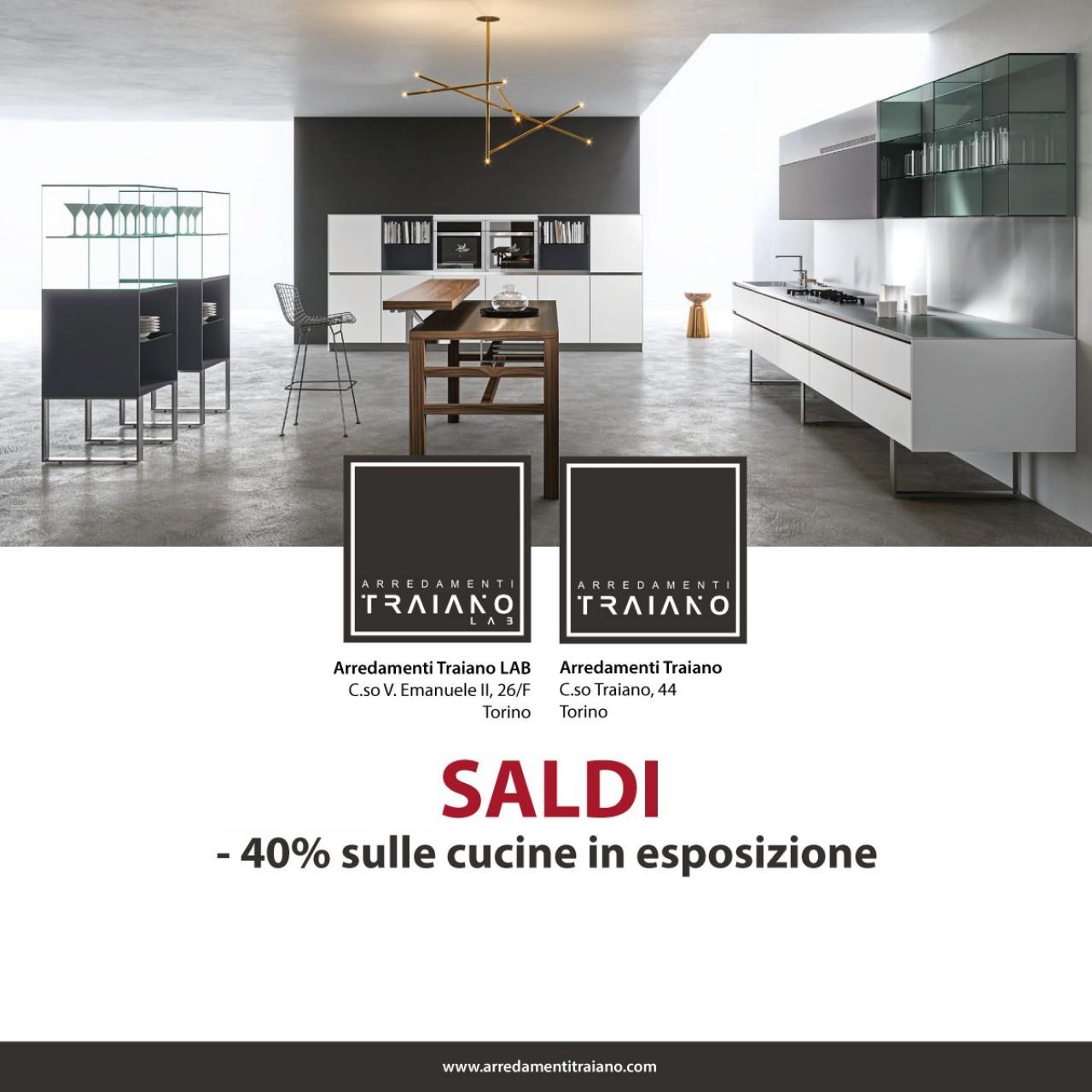 Arredamento Cucine A Torino.Sconto 40 Sulle Cucine In Esposizione Offerte Mobili Torino
