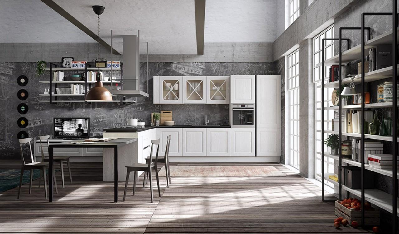 Bellagio cucina cucine aran cucine torino for Faro arredamenti