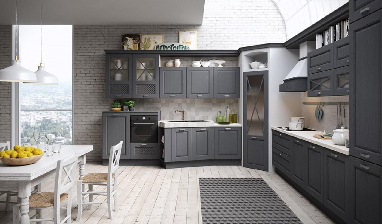 Bellagio cucina cucine aran cucine torino for Arredamenti traiano torino