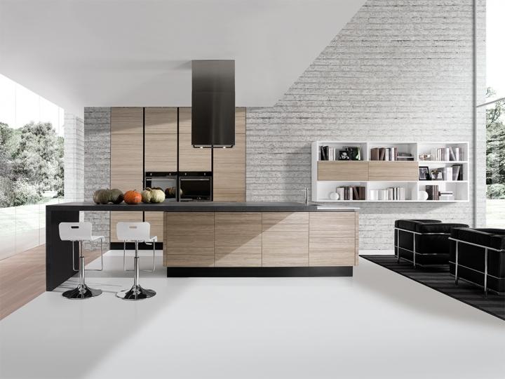 Erika - Cucina | Cucine Aran Cucine Torino | Arredamenti Traiano