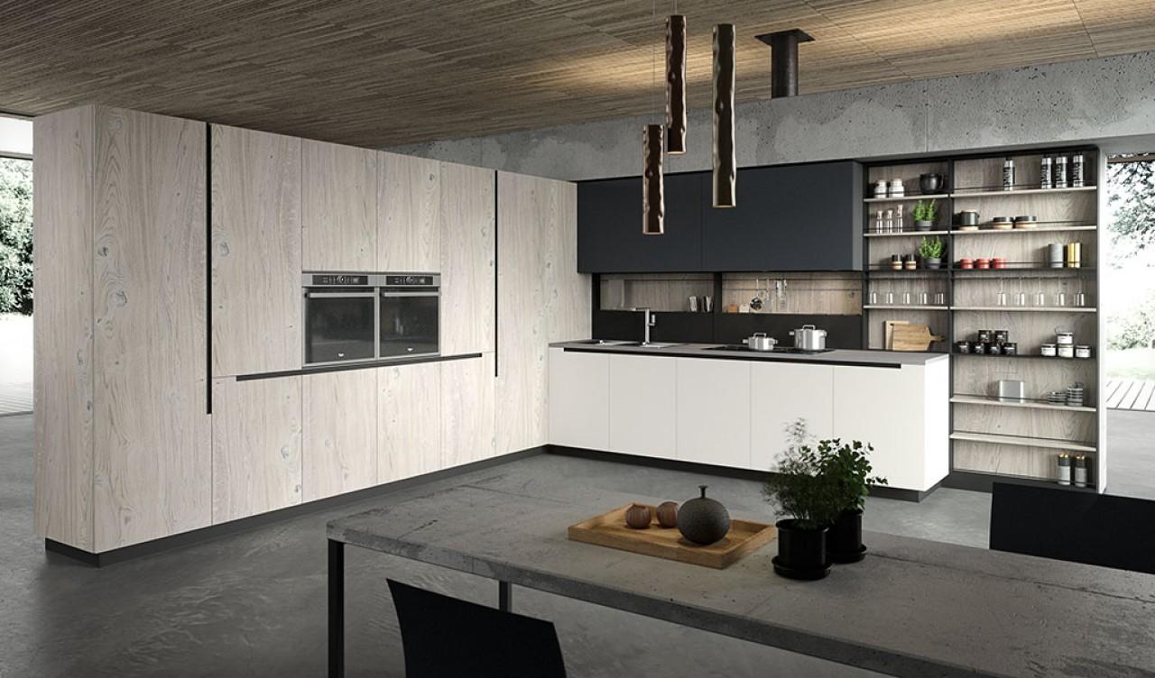 LAB13 - Cucina   Cucine Aran Cucine Torino   Arredamenti Traiano