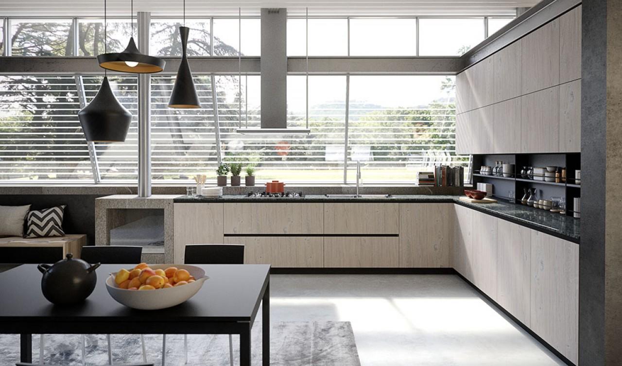 Lab13 cucina cucine aran cucine torino arredamenti for Arredamenti traiano torino