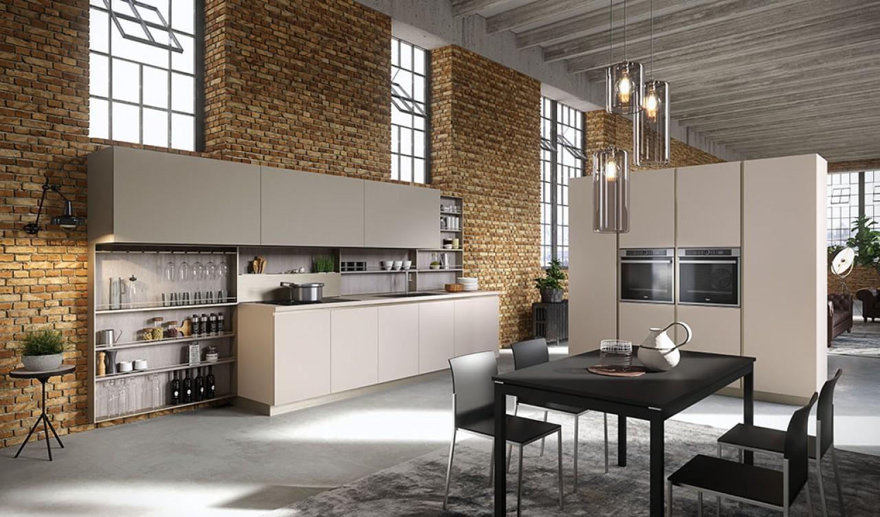 Lab13 cucina cucine aran cucine torino arredamenti for Arredamenti traiano