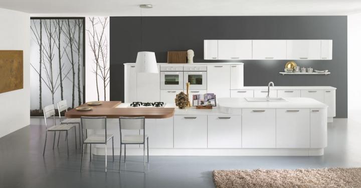 Krea cucina cucine vitali cucine torino arredamenti for Faro arredamenti