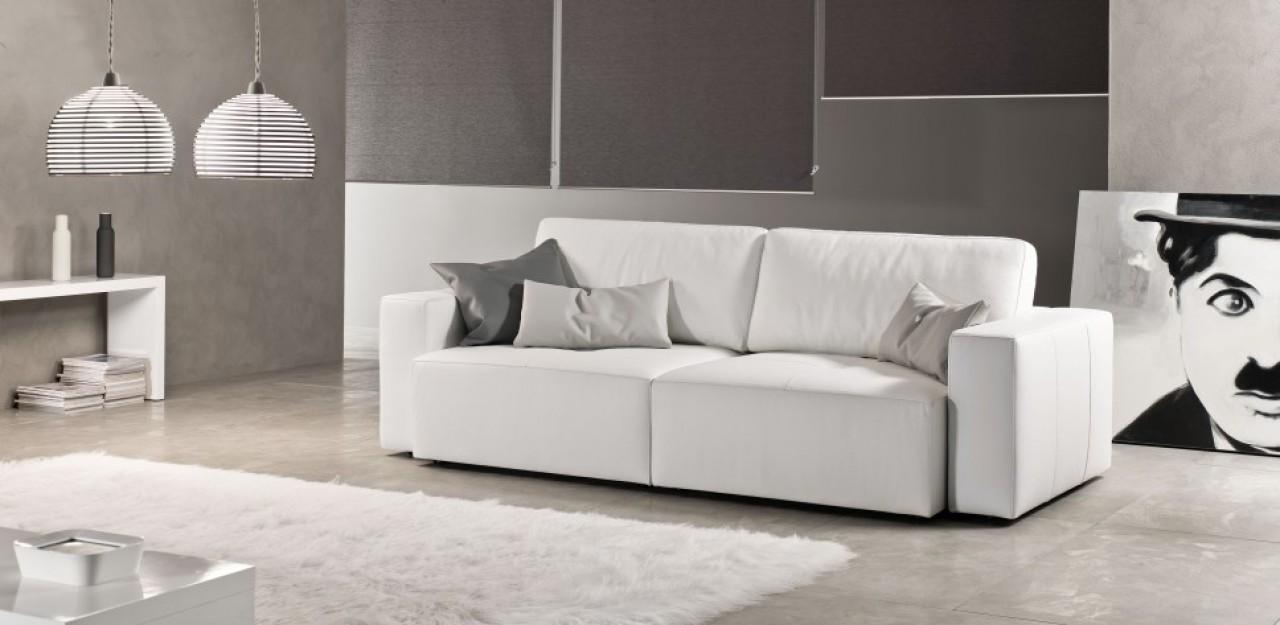Klauss divano in pelle divani e relax exc sofa torino for Divano klaus