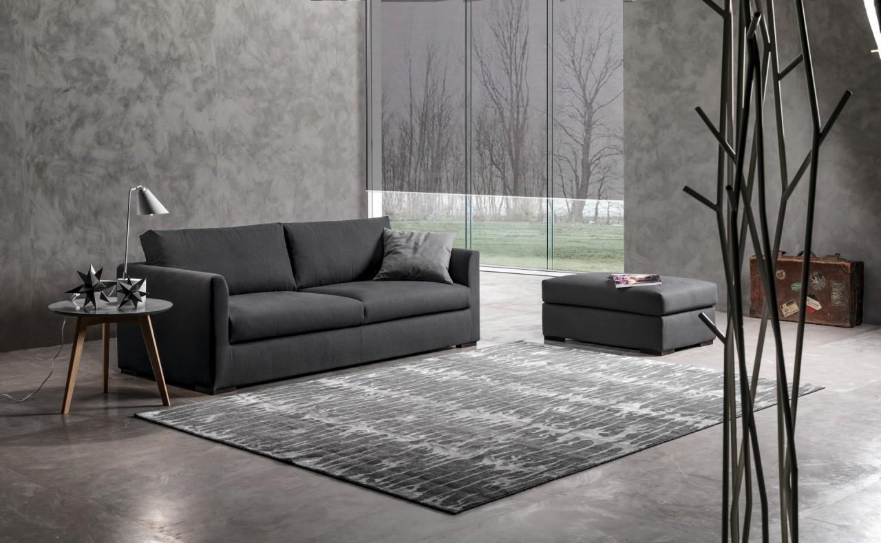 Airbus divano in tessuto divani e relax exc sofa torino arredamenti traiano - Divano poco spazio ...